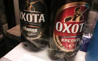 Сколько алкоголя в пиве охота крепкое